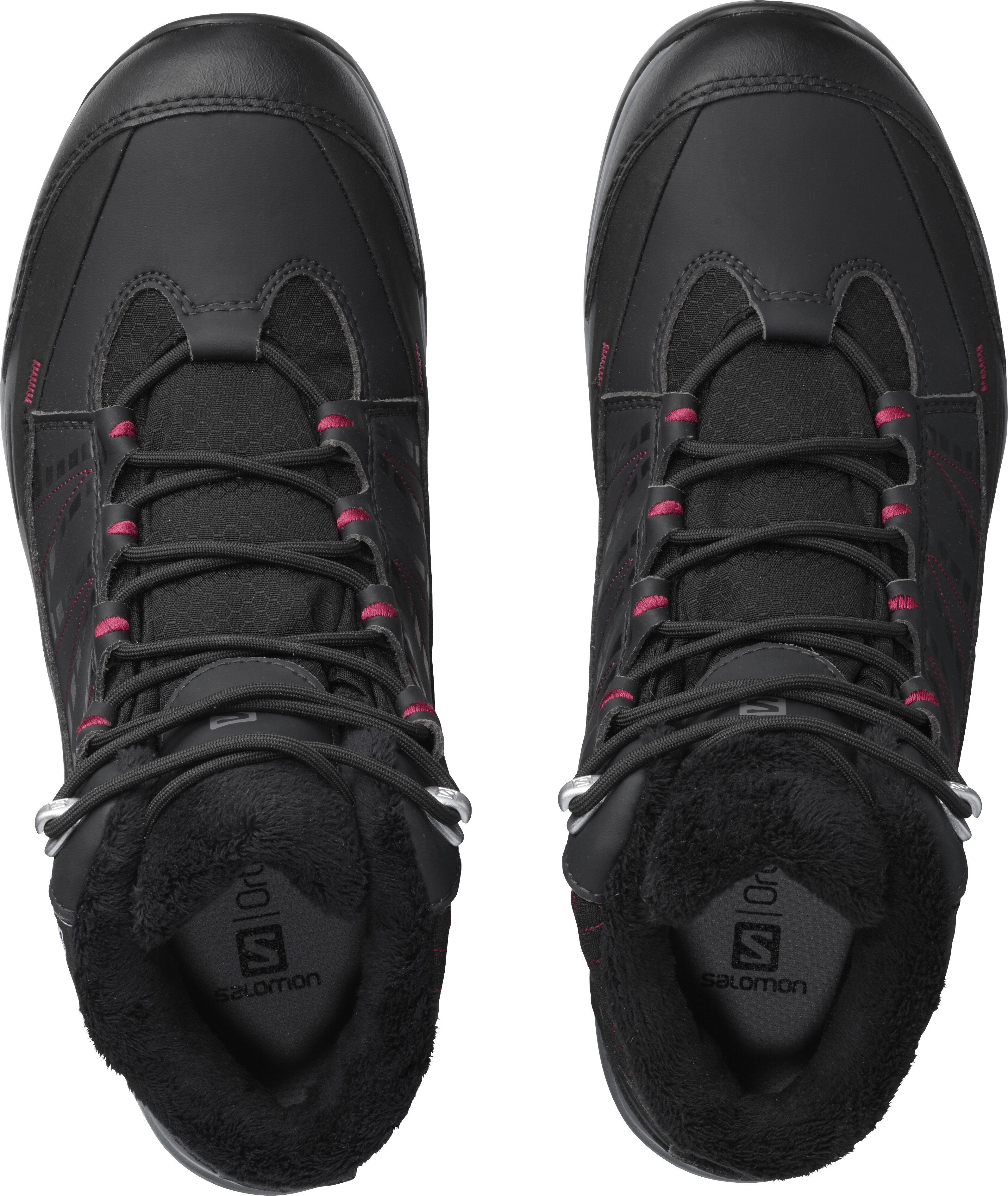 b94670f38bcd Salomon W s Kaïna CS WP 2 Shoes Phantom Black Beet Red - addnature.com